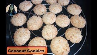 Kadhai Me Banaye Coconut Cookies l Eggless Coconut cookies by Raksha