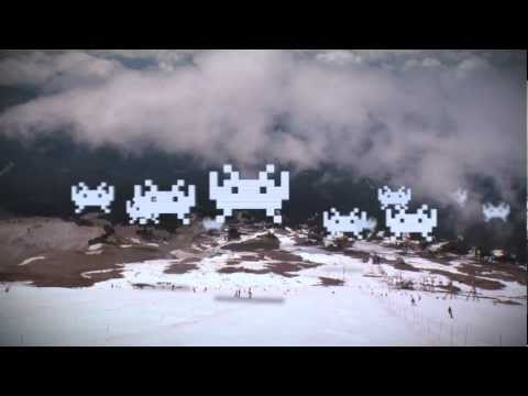 Pro Snowboarders attacked by  Pro Game Characters