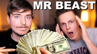 How Mr Beast Spends $500,000 Per Month (EXCLUSIVE INTERVIEW)
