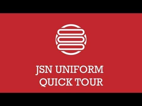 JSN UniFоrм Quiск тоur | Jоомlа Ехтеnsiоn Vidео - DomaVideo.Ru
