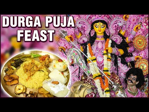 The Famous Durga Puja Feast – Durgotsava – Dhunuchi Dance – Navratri – The Holy Kitchens Of India
