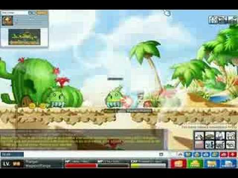 Maple Story Gameplay