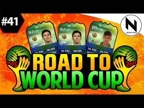 Cup - FIFA 14 Ultimate Team, Road to World Cup, Episode 40, World Cup Ultimate Team, bad times, - FIFA 15
