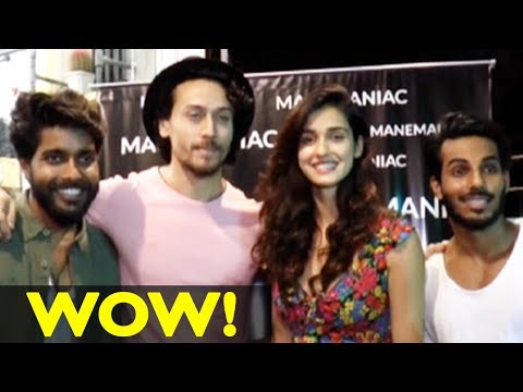 Tiger Shroff And Disha Patani's Night Out Together