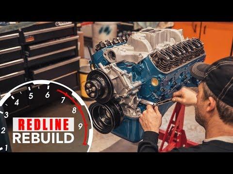 Ford 289 V-8 engine rebuilt from basic to bruiser [05:26]
