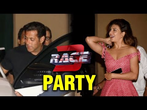 Salman Khan and Jacqueline Fernandez Party After R