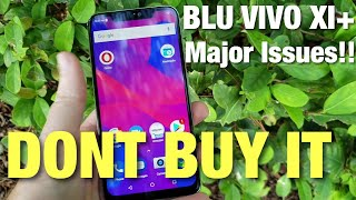 The BLU VIVO XI+ Has A Major Problem