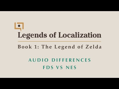 Legend of Zelda Audio Differences & Comparison (Famicom Disk System vs. NES)