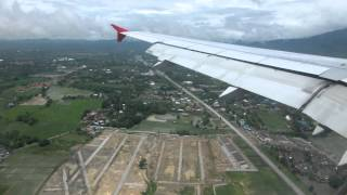 Landing At Chiang Mai Airport Thailand On Sep 07 2012