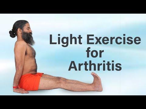 Light Exercise for Arthritis   Swami Ramdev