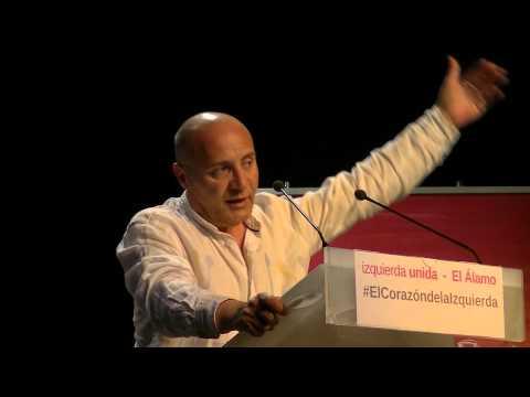 Presentación de la candidatura IU El Álamo con Cayo Lara (1)