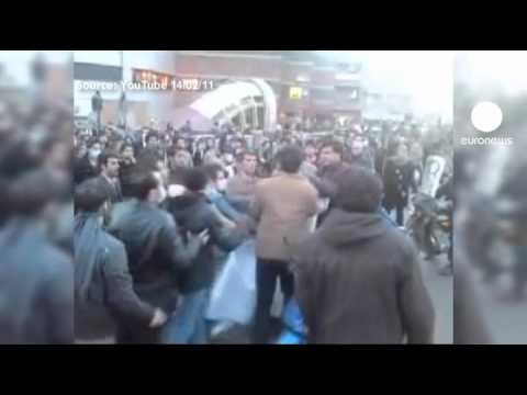 Clashes after protest death in Iran
