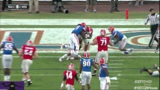 Hutson Mason vs Florida (2014)