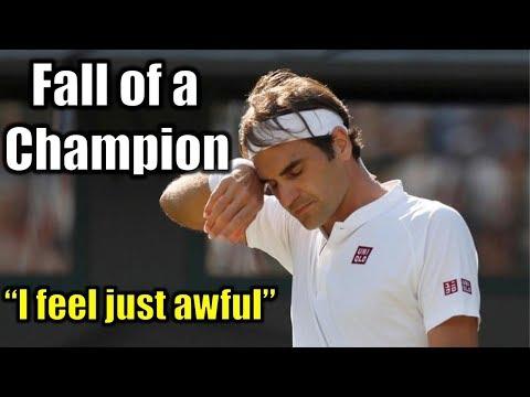Wimbledon: Federer outdone by Anderson | Previews: Nadal v. Djokovic; Isner v. Anderson