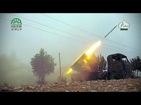 Συρία: Αντεπίθεση των τζιχαντιστών του Ισλαμικού Κράτους στο Χαλέπι – world