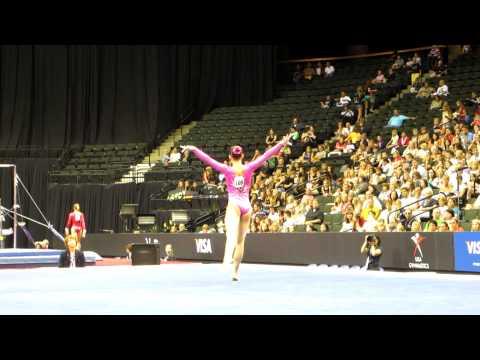Sarah Finnegan - 2011 Visa Championships - Floor