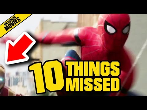 Easter Eggs and References in the First Trailer for SpiderMan