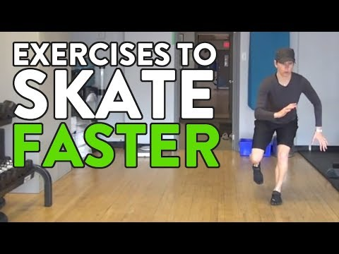 3 Exercises To Make Hockey Players Skate Faster