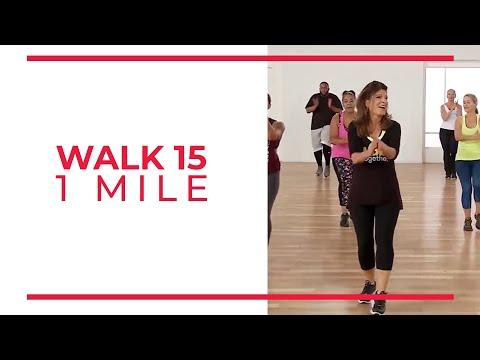 Walk At Home Walk 15 1 Mile Walking Exercise