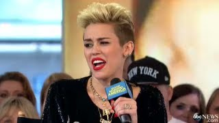 miley cyrus WTF! Miley Cyrus Disses One Direction&Justin Bieber?!