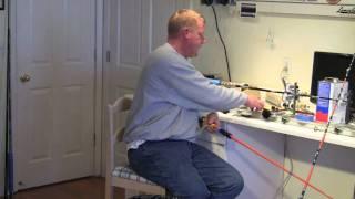 Vertical Jigging Reel Seat Installation