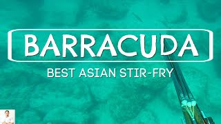 Most Delicious Barracuda Dish | Asian Inspired Stir Fry by Diaries of a Master Sushi Chef