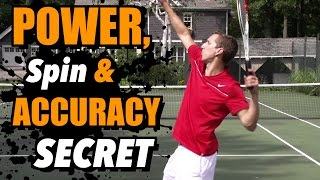 Tennis Highlights, Video - Power, Spin, and Accuracy Secret - There is no Spoon - Tennis Lesson