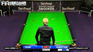 Judd Trump Vs Neil Robertson  ~2012 Premier League Snooker - Semi Final (p.1)