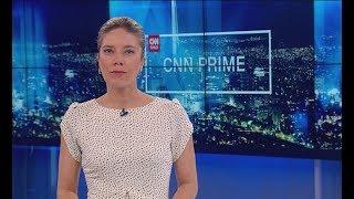 Así comenzó CNN Prime este 23 de agosto de 2017.