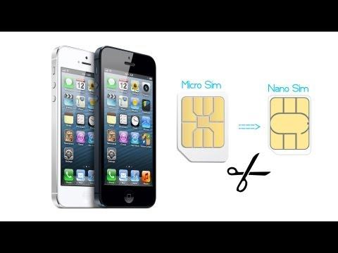 Tagliare micro sim in nano sim per iphone 6