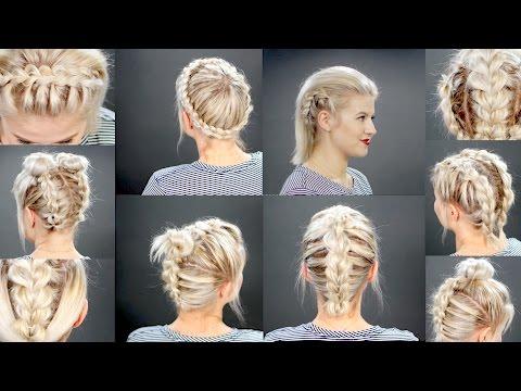 Hairstyles For Short Hair Milabu : 10 faux braided short hairstyles milabu more short hairstyles videos