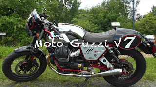 5. A Jaunt With Bella - My Moto Guzzi V7 Racer: Testing Her NRP Exhaust With DB Killers