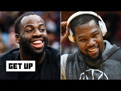 Video: Everything is cool between KD and Draymond – Jalen Rose | Get Up