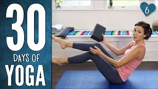 Day 6 - SIX PACK ABS - 30 Days of Yoga