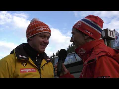 Interview with Olympic Luge Champion Felix Loch (Germany)