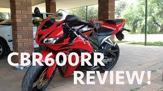 6. 2009 CBR600RR Test Ride & Review