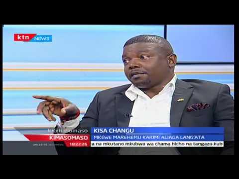 Kimasomaso: Kisa Changu; Nilivyompoteza mke wangu Lang'ata 02/10/2016
