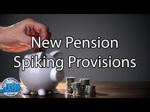 Employer Pension Spiking Overview for Employees Retiring through 6-1-2017