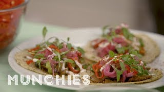 How-To: Make Beer-Marinated Seitan Tacos by Munchies