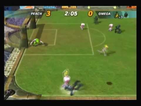 mario smash football gamecube cheats