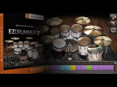 Magix: Ezdrummer 2 Setup in Samplitude Pro X