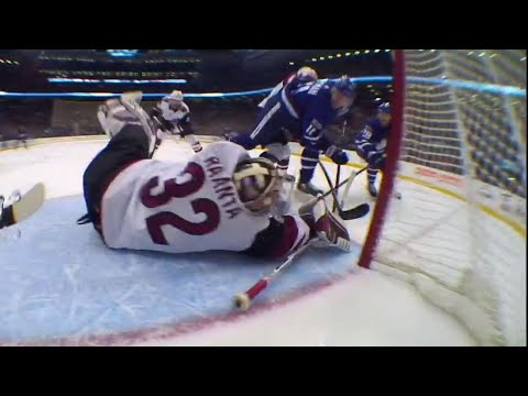 Video: Maple Leafs come close, but Coyotes' Raanta robs Hyman