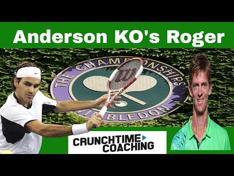 Federer Vs Anderson 2018 WIMBLEDON Live Hangout