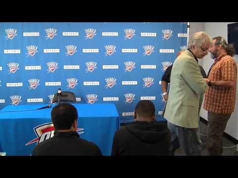 Oklahoma City Thunder Exit Interviews
