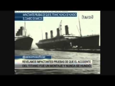 Impactantes pruebas de que el Titanic nunca se hundió (Parte 1)