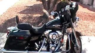 10. Harley Davidson FLHX Street Glide Touring Bike