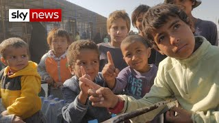 'We're going to slaughter you': The children of Syria's IS camp