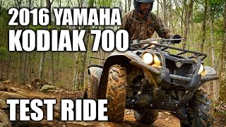 1. TEST RIDE: 2016 Yamaha Kodiak 700 EPS