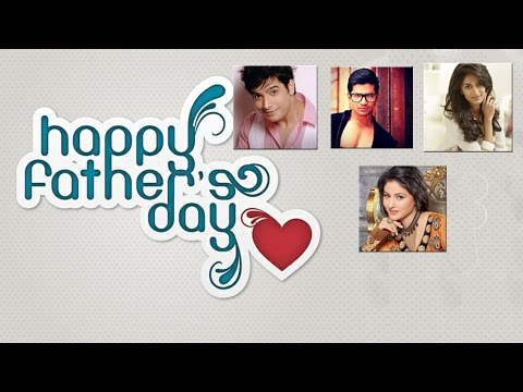 TV celebs with Happy Father's Day