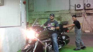 9. first minutes i receive my 2012 kawasaki vulcan voyager 1700